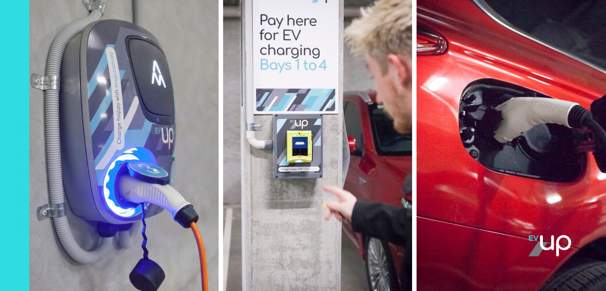 EV charging PayPass tap and go payment systems
